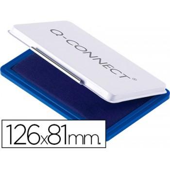 Almofada para Carimbo Nº 1 126x81mm Azul Q-Connect