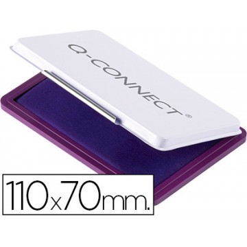 Almofada para Carimbo Nº2, 70x110 mm Violeta Q-Connect