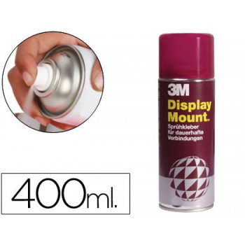 Cola Spray Display Mount Permamente 400ml 3M