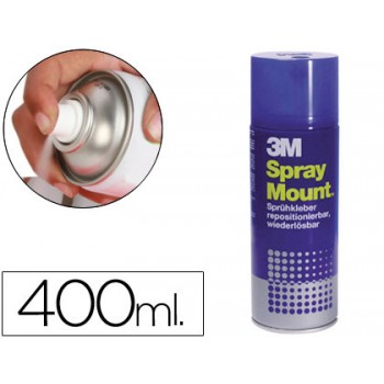 Cola Spray Mount Adesiva Reposicionavel Por Tempo Limitado 400ml 3M