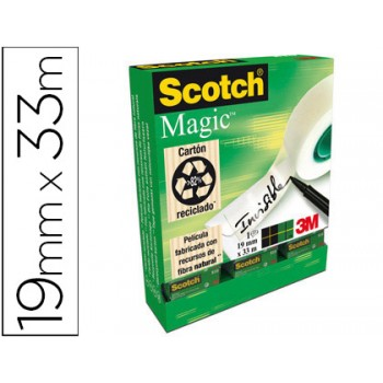 Fita Adesiva Invisível 19mmx33mts Scotch Magic