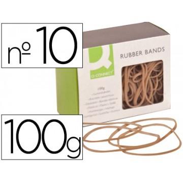 Elásticos Caixa 100Gr 100X1.5mm Q-Connect Nº10
