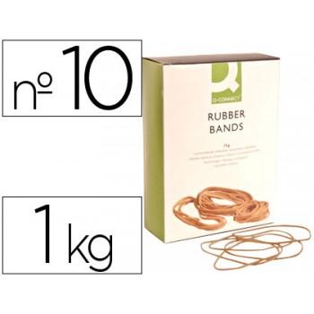 Elásticos Nº10 Caixa 1Kg 100X1.5mm Q-Connect