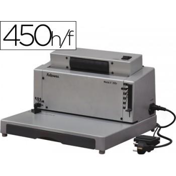 Encadernadora Eléctrica FELLOWES E-200R Para Espiral Metálica