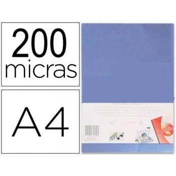 Capa De Encadernação A4 PVC 200 Microns Transparente 100 unidades