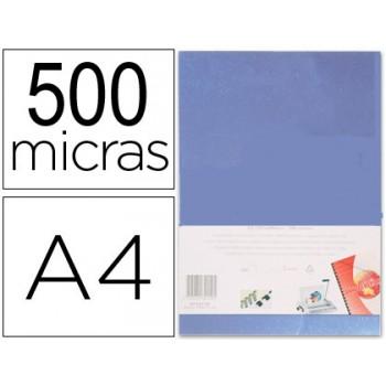 Capa De Encadernação A4 PP 500 Microns Transparente 100 unidades
