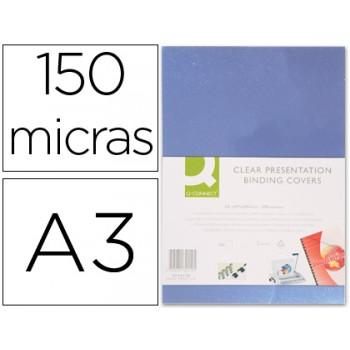 Capa De Encadernação A3 Transparente 150 Microns 100 unidades