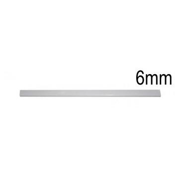 Baguete Lombada 6mm Memoris- Precious Branca