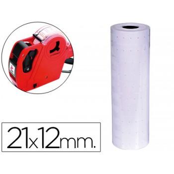 Etiquetas de Rolo 21x12mm Com 1000 Branca