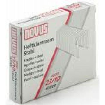 Agrafos 23/10mm Caixa com 1000 NOVUS (10/ 60 Folhas)