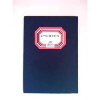 Livro de Registo Ponto A4 100 Folhas Firmo