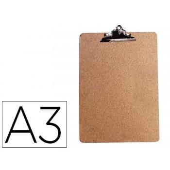 Porta Notas Prancheta Com Mola A3 Extra duro Q-Connect