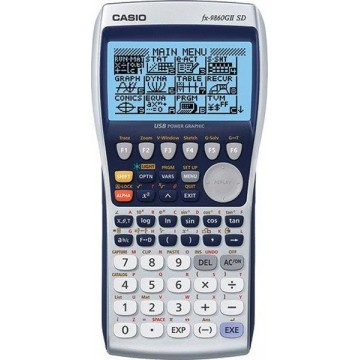 Calculadora Gráfica Casio FX 9860 G II SD Card
