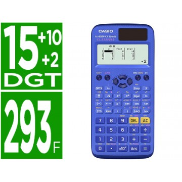 Calculadora Científica Casio FX-85SPX II Classwiz 9 memórias 16mb Azul