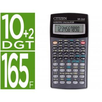 Calculadora Científica SR-260 128 Funções 10+2 Dígitos Citizen