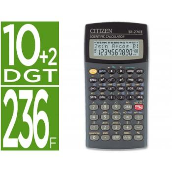 Calculadora Científica SR-270 II 236 Funções 10+2 Dígitos Citizen