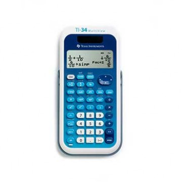 Calculadora Científica Texas TI 34 Multiview