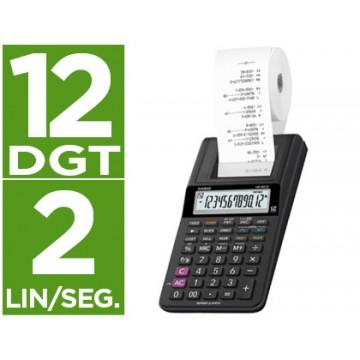 Calculadora Com Rolo Casio HR-8 RCE 12 dígitos