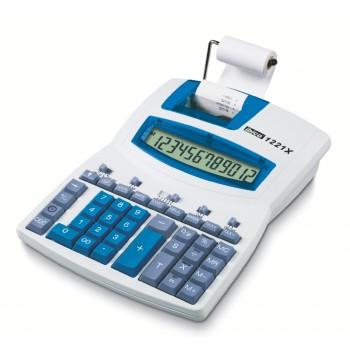 Calculadora Com Rolo Ibico 1221X Visor LCD 12 Dígitos Angular