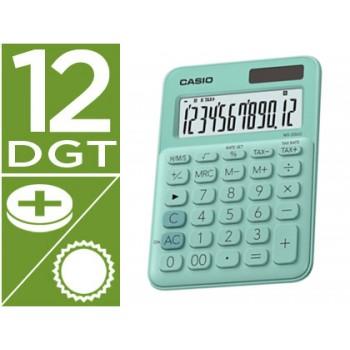 Calculadora Secretária 12 dígitos Casio MS-20UC-RD Verde