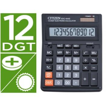 Calculadora Secretária 12 dígitos Citizen SDC-444-S