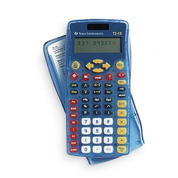 Calculadora Gráfica Texas TI 15