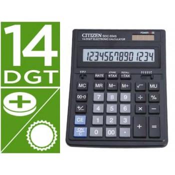 Calculadora Secretária 14 dígitos Citizen SDC-554S