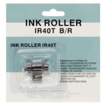 Ink Roller IR40T Preto/Vermelho -1Unidade