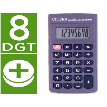 Calculadora de Bolso Citizen LC-310N 8 Dígitos