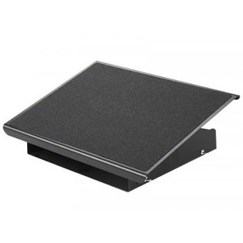 Apoio de Pés Metálico Ajustável 3 Alturas 415x326x103mm Q-Connect