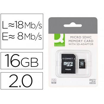 Cartão Memória 16GB SD Micro Fash Classe 6 com Adaptador