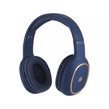 Auricular Artica Pride Bluetooh com Microfone Diadema Ajustável Azul NGS