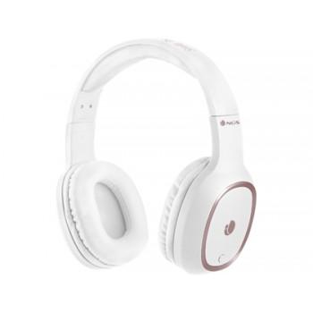 Auricular Artica Pride Bluetooh com Microfone Diadema Ajustável Branco NGS
