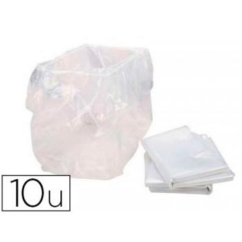 Bolsa de Resíduos de Documentos para Destruidoras SECURIO B22 10 Unidades