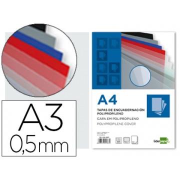 Capa De Encadernação A3 Transparente 500 Microns 100 Unidades