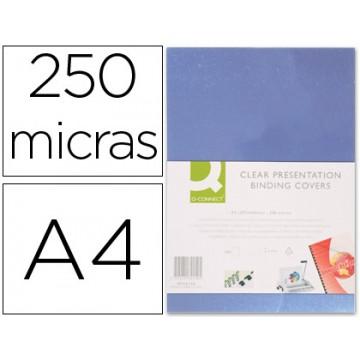 Capa De Encadernação A4 PP 250 Microns Transparente 100 unidades