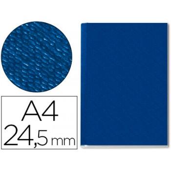 Capa De Encadernação Lombada 24,5mm A4 Rígida Channel Azul 10 Unidades