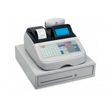 Caixa Registadora Olivetti Ecr 8220 Alfanumérica Visor Gráfico Grande de 8 Linhas
