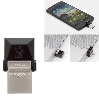 Pen Drive DataTraveler Micro Duo 3.0 16GB