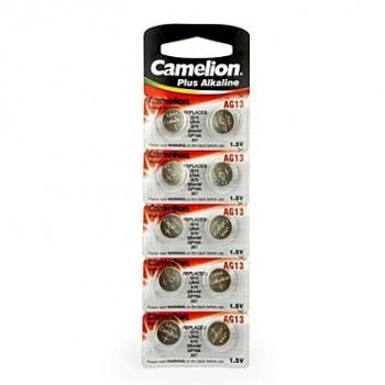 Pilha Relógio AG13 LR44 Camelion Plus Alkaline 1Unidade