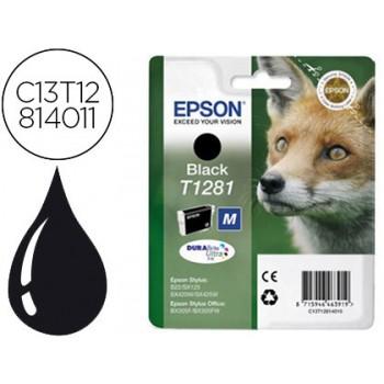 Tinteiro EPSON Original T1281 Stylus S22 Preto