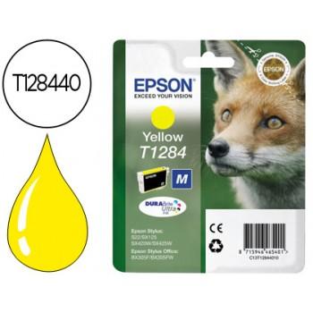 Tinteiro EPSON Original T1284 Stylus S22 Amarelo