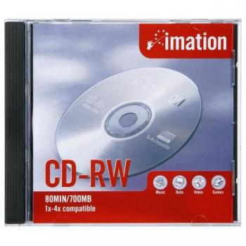 CD-RW 700Mb Imation com caixa 1 Unidade