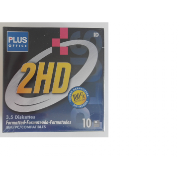 Disquete MF-2HD Formatted - Pack 10 Unidades