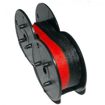 Fita de Nylon GR24 13mmX6mts Para Calculadora Preto e Vermelho